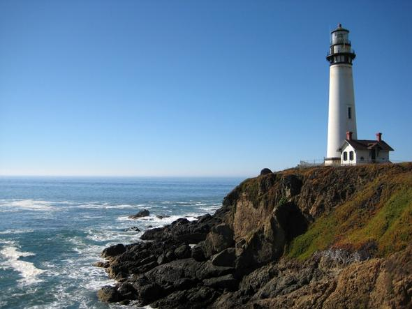 Pigeon Point Lighthouse, Kalifornia.