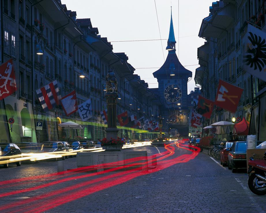 Zabytkowa część Berna - Swiss Cities / Christof Sonderegger