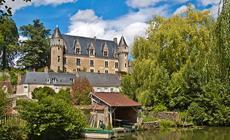 Zamki nad Loarą: zamek w Montresor