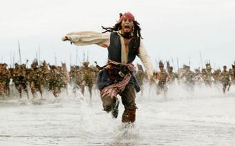 Jack Sparrow - Piraci z Karaibów