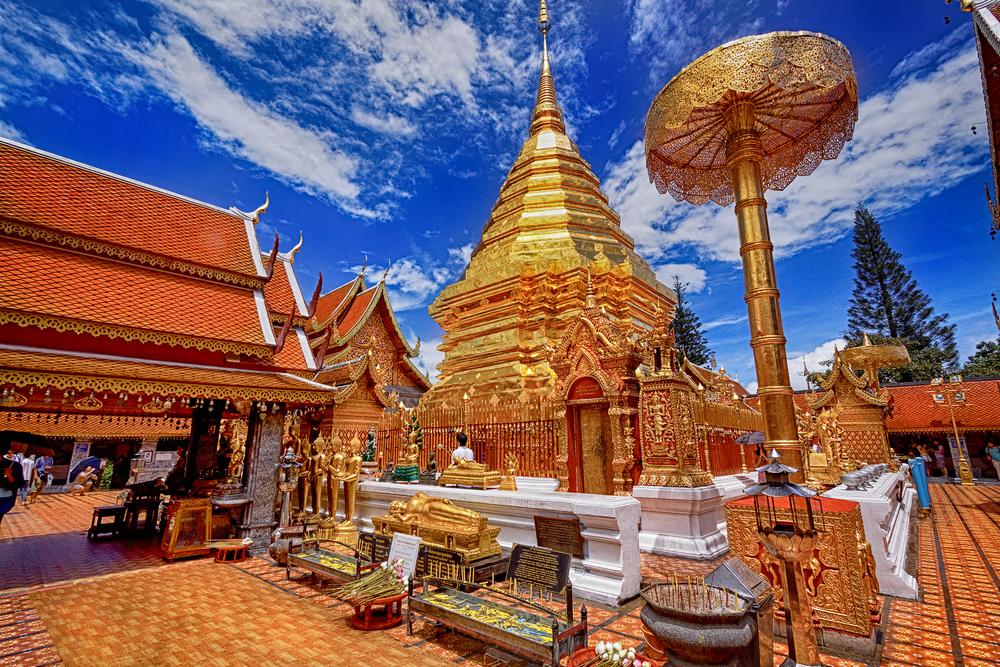 Wycieczka do Tajlandii - świątynia w Chiang Mai